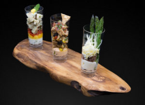 Canapes in Shot Glasses