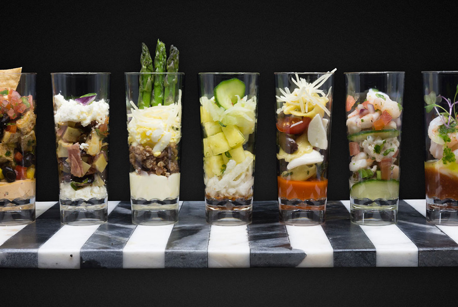 Stunningly Presented Foods for Your Catering Company