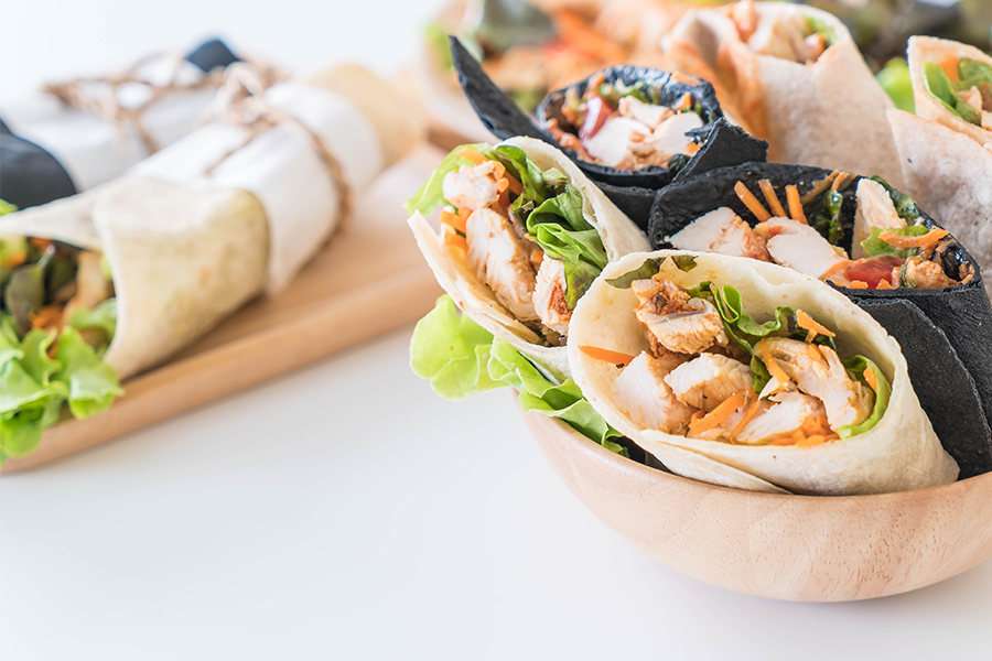Sandwiches and Wraps - The Perfect Way to Serve Your Guests in Style 1