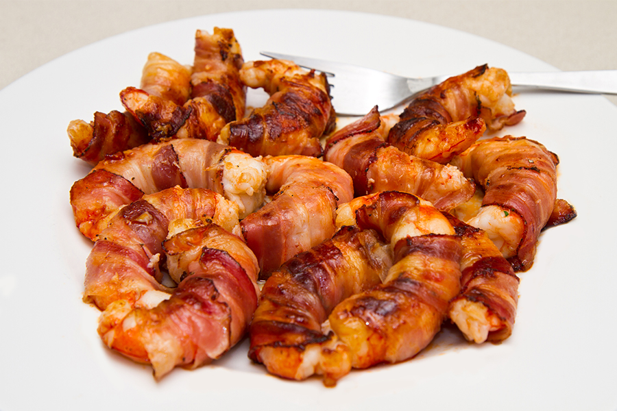 Everything Tastes Better Wrapped in Bacon – Even Seafood 1
