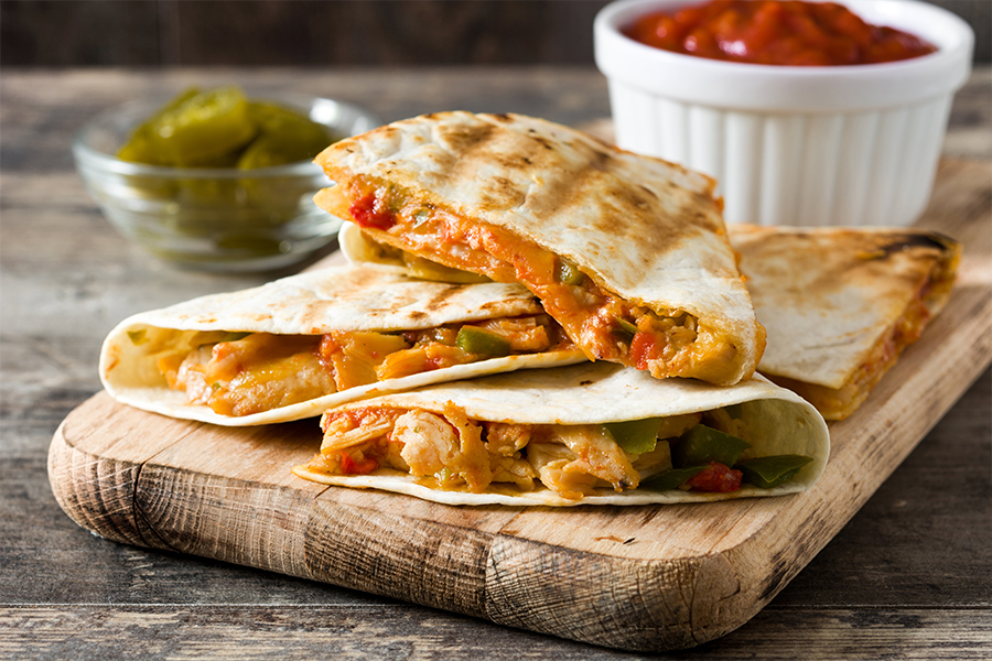 Everything You Want from a Southwestern Quesadilla 1