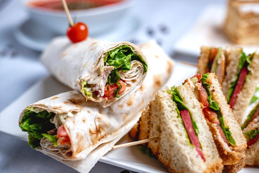 The Perfect Sandwiches and Wraps for Your Country Club 1