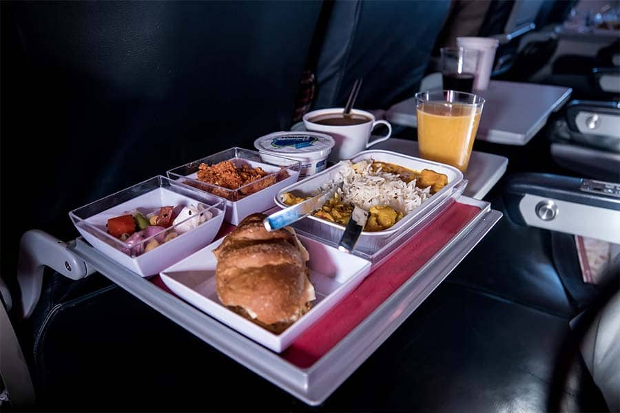 Welcome Travelers Back the Right Way with Delicious Airline Food 1