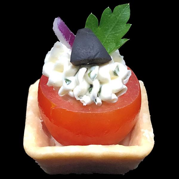 Cherry-Tomato-with-Herbed-Cheese