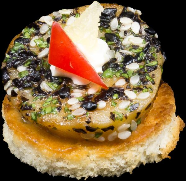 Seared_Furikake_Jumbo_Scallop_With_Ginger_Cream1