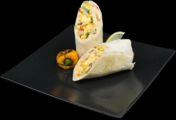 burrito denver - ham, pepper, onions, cheddar1