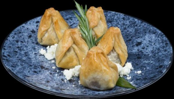 fig and marscapone phyllo purse1
