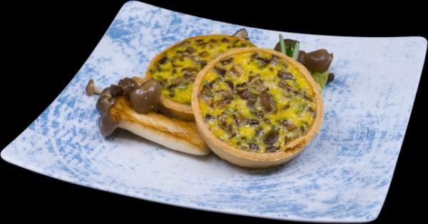 quiche mushroom1