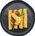 Fire roasted corn and poblano shrimp enchilada2
