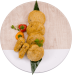 Pollo Enchilada Arepa2