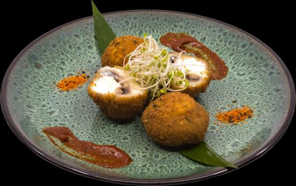 boursin-cheese-breaded-mushroom
